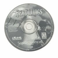Aero Wings (Sega Dreamcast, 1999) Disc Only - FREE SHIPPING