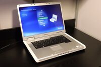 Dell Inspiron E1705 Laptop Win XP Vintage Gaming GeForce 7900 GS T7600 SSD 4GB
