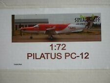 Simian Stuff 1/72 Pilatus PC-12 South Africa Red Cross Resinbausatz