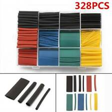 328Pcs 8 Sizes Assorted 2:1 Heat Shrink Tubing Tube Wrap Sleeve Wire Cable Kits
