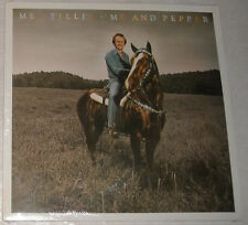 "Mel Tillis STILL IN PLASTIC Me and Pepper 12"" LP NEAR MINT not sealed FREE US SH"