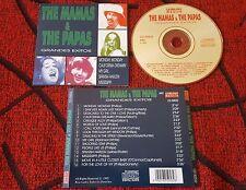 THE MAMAS & THE PAPAS **Grandes Exitos** ORIGINAL & RARE 1995 Spain CD