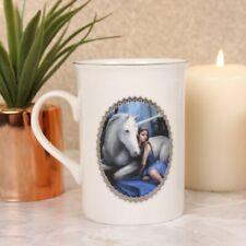 4 Anne Stokes Unicorn Mugs in Gift Boxes - Beautiful Bone China Cups Set
