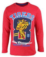 T-shirts, débardeurs et chemises rouge à manches longues pour garçon de 2 à 16 ans