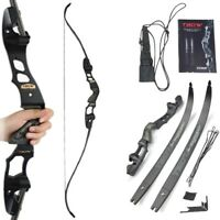 """63"""" ILF Takedown Recurve Bow 30-60lbs American Hunting Right Hand IBO 210FPS"""