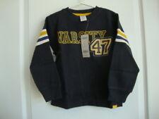 "Gymboree VARSITY FOOTBALL Navy Blue ""Varsity 47"" Thick Top Boy Size 4 NWT - Fall"
