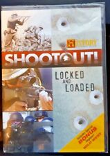 History Channel: SHOOTOUT: Locked and Loaded DVD Factory Sealed, New
