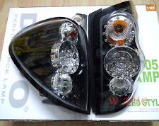 MITSUBISHI L200 TRITON ML MN 2005-14 TAIL REAR LED LIGHT LAMP BLACK CLEAR LENS