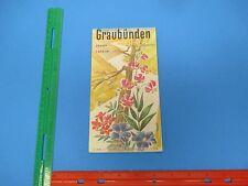International Travel Brochure,Graubunden Switzerland,Pontresina,Pratigau, S845