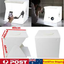 """LED Light Room Photo Studio 16"""" 40CM Photography Lighting Tent Kit Mini Cube Box"""