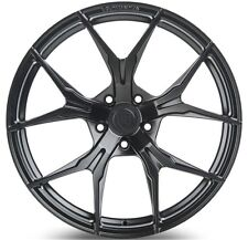 Rohana 19x9.5  RFX5 5x114 +38 Matte Black Rims (Set of 4)