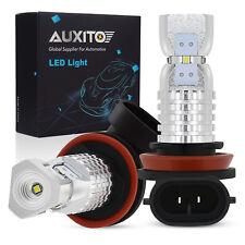 3000LM H8 H11 H16 6000K White 100W Super Bright LED Fog Light Driving Bulb DRL