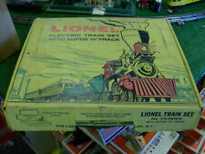 LIONEL TRAINS POSTWAR NO. 2528WS TRAIN SET 1959-61 - VERY NICE