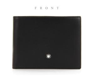 MONT BLANC Men's Meisterstück Leather Wallet - 6cc /14548