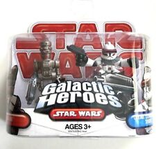 Star Wars Galactic Heroes IG-88 & Clone Commander Thire RARE - NEW - SEALED