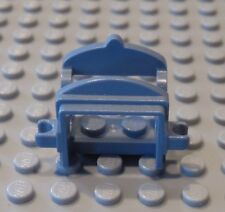 LEGO Minifig Animal Sand Blue Horse Saddle with two Clips