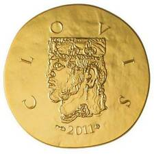 France 2011 50  EURO Clovis  Proof 1/4 Oz .920 Gold Coin VERY LIMITED!!!