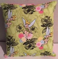 Tinker Bell Pillow Fairy RARE Tinkerbell Disney HANDMADE in USA Tink