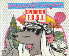 ROLAND RAT SUPERSTAR OPERATION F.O.G.I - PB 1985 FIRST EDITION - VG CONDITION