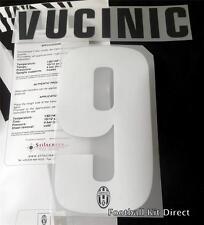 JUVENTUS VUCINIC 9 2012/13 Maglietta da calcio nome/numero SET KIT HOME