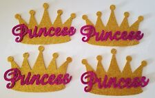 10 Baby Shower Princess Gold Crowns Foam Party Decorations it's a Girl Favors