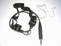 TRI LASHⅡ Air Duct Type Throat Microphone For PRC152 148 Walkie Talkie Headset