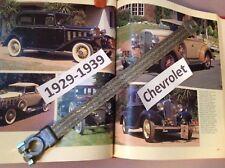 Chevrolet 1934 1933 1932 1931 1930-29 flat braided negative battery ground strap