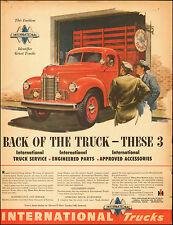 1948-Vintage ad for International Trucks`Red (121314)