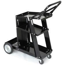 Chariot de Soudage Mobile Poste de Soudure 3 étagères 4 Roues MIG Atelier Garage