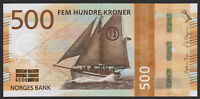 Norway 500 Kroner 2018 UNC NEW Ship