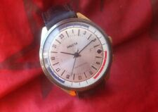 Wristwatch Raketa 2623 Au 24 hours on duty USSR vintage watch Soviet Russian