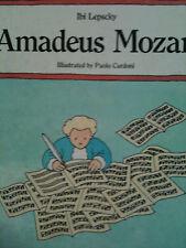 Amadeus Mozart by Ibi Lepscky children's picture book ILLUS: Paolo Cardoni H/B