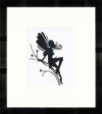 Lanarte Cute Little Fairy on Twig Silhouette Cross Stitch Kit