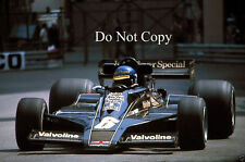 Ronnie Peterson JPS Lotus 78 Monaco Grand Prix 1978 Photograph 1