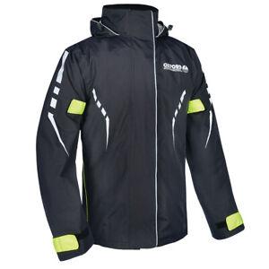 Oxford Stormseal Waterproof Motorcycle Motorcycle Over Jacket Black / Fluo