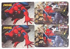 Marvel Ultimate Spider-Man Table Placemats Washable Party Accessories Set of 4