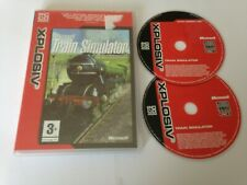 Microsoft Train Simulator PC CD ROM Game Worldwide Post! 2002 Xplosiv Version