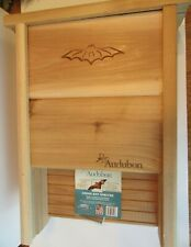 Audubon Natural Cedar Bat House Shelter New With Tag