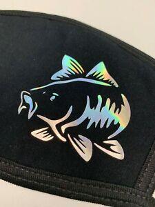 Carp Fishing Face Cover Mask - Washable - Reusable - New - Carp - Angling - Rod