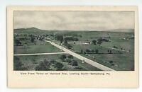 Early! Tower View Hancock GETTYSBURG PA Vintage Civil War Battlefield Postcard