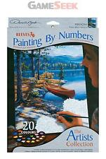 REEVES ARTISTS COLLECTION MEDIUM PAINT BY NUMBERS TIME WELL SPENT