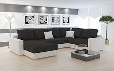 Couch Couchgarnitur Polsterecke Sofa Wohnlandschaft Schlaffunktion STY 5