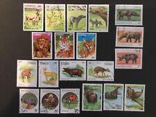 Thematic Stamps Animals - CONGO ANIMALS x 20