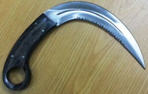 "Custom made Hand Crafted KNIFE KING'S ""Raid II"" Stainless steel Karambit knife"