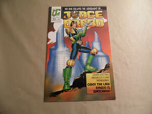 Judge Dredd #33 (Quality Comics 1989) Free Domestic Shipping