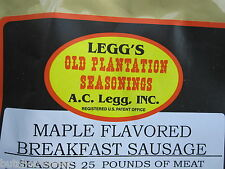 Maple for 50 Lbs Breakfast Sausage Seasoning Spices