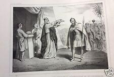 1873= ABRAMO BENEDETTO= BIBBIA= Antica Grande Stampa by BECQUET
