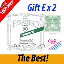 Chromcor Violin String Set Steel E Ball/ Gift E x 2