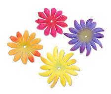 Flower Embellishment ~MUM & DAISY PETALS~ Bright  Polyester Scrapbook 40p