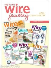 NEW! Step-by-Step Wire Jewelry 2011 Collection [CD] [6 Issues]